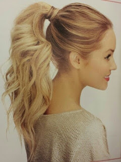 simple cute ponytail