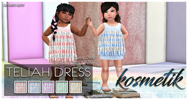 ".kosmetik Kids Teliah ""Nails and Sandals and Dresses, OH MY!"""