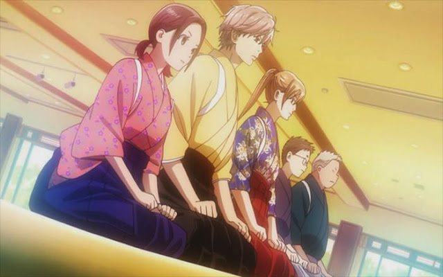 Anime Sport dengan unsur romantic
