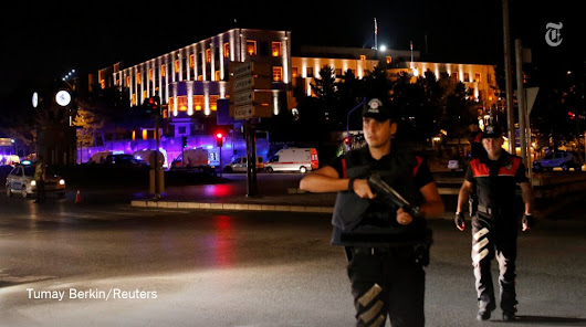 Turkish prime minister says, military in attempted coup