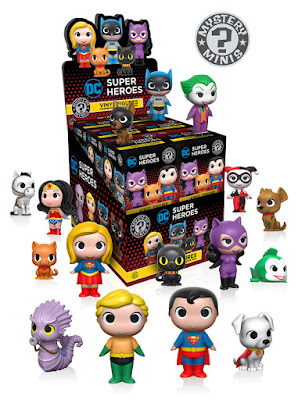 DC Comics Super Heroes & Pets Mystery Minis Blind Box Series by Funko