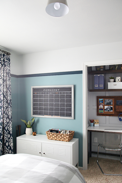 IHeart Organizing: Our Teen Boy's Bedroom is Finished! on A Teen Room  id=32892