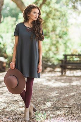 Vestidos casuales sencillos