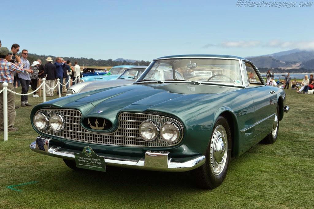 fab wheels digest (f.w.d.): maserati 5000 gt (1959–65)