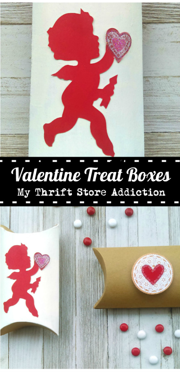 15 minute Valentine's Day treat boxes