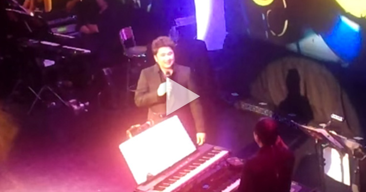 "Janno Gibbs amazingly copied the impressions of other artists while singing ""Just Once"""