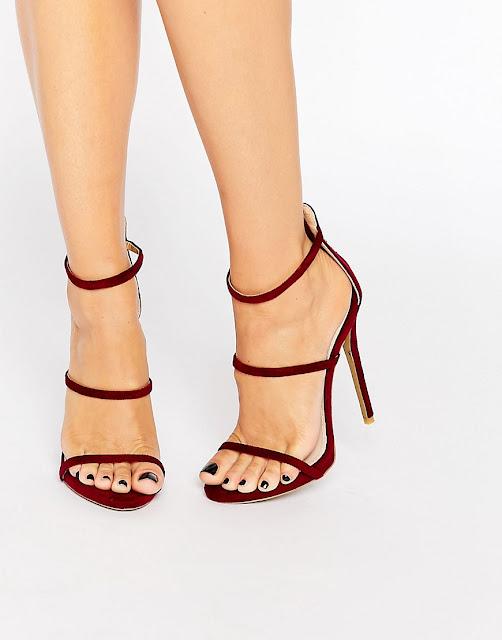 zapatos rojos para vestido