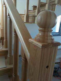 balustrade lemn masiv
