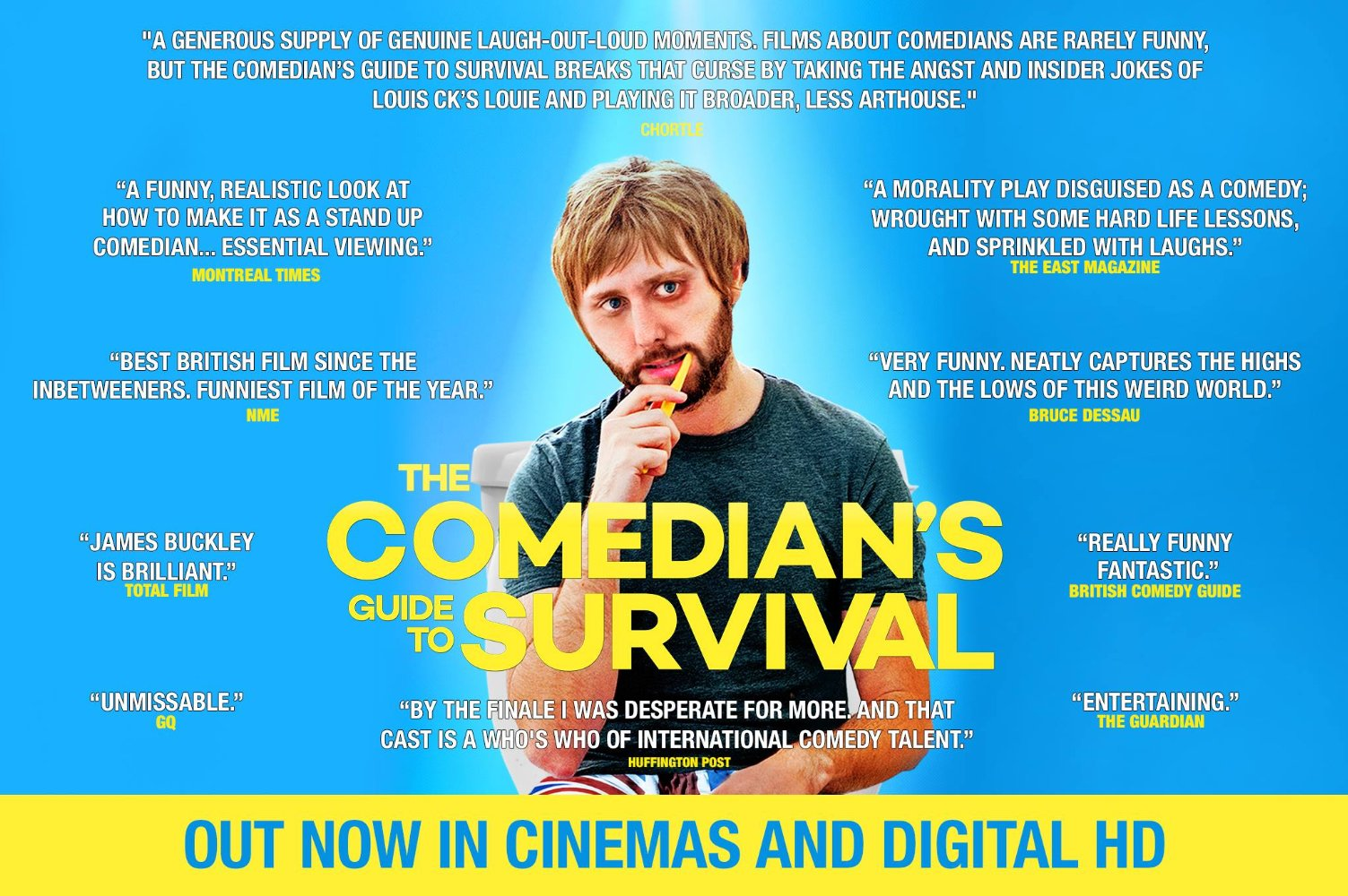 The Comedian's Guide to Survival