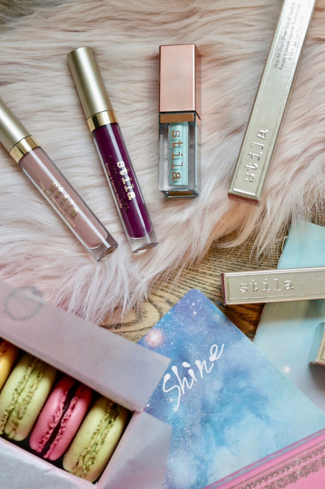 stila stay all day liquid lipstick sheer carmello paradiso stila shimmer & glow liquid eyeshadow freedom