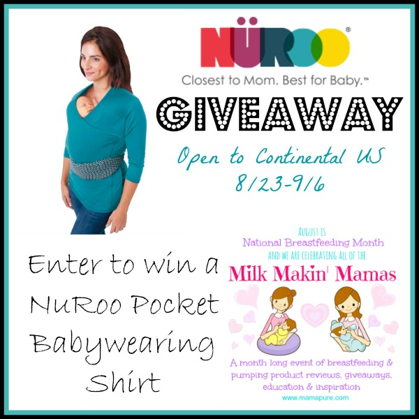 Nanny To Mommy Enter To Win A Nuroo Pocket Babywearing