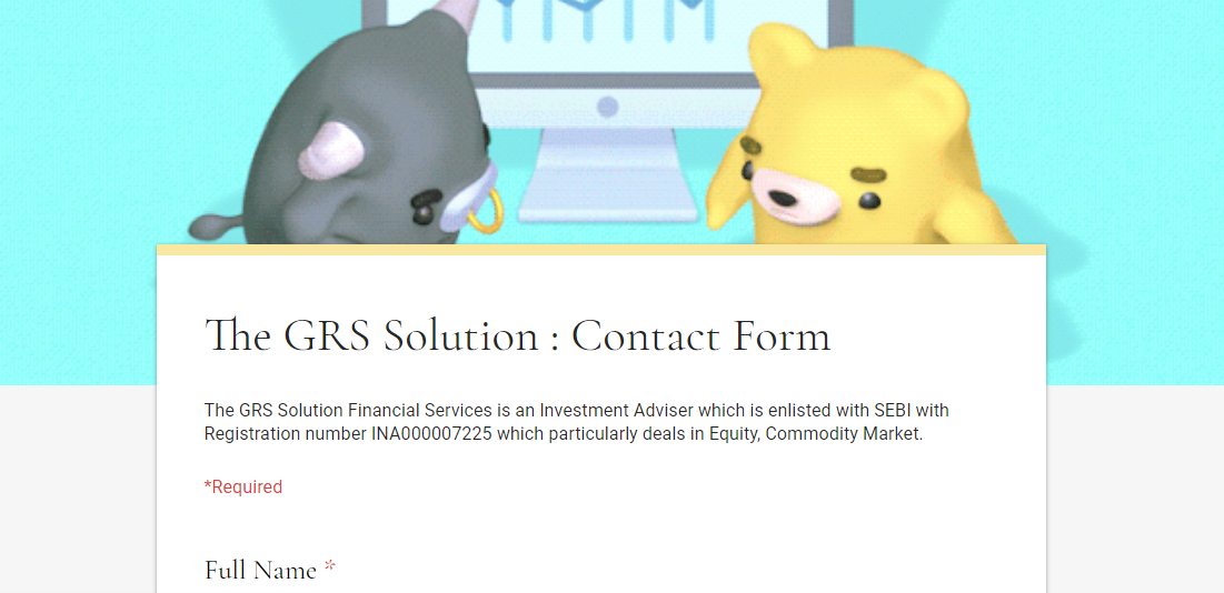 The GRS Solution | Registration Form