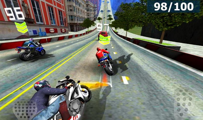Game Smartphone - Speed Moto