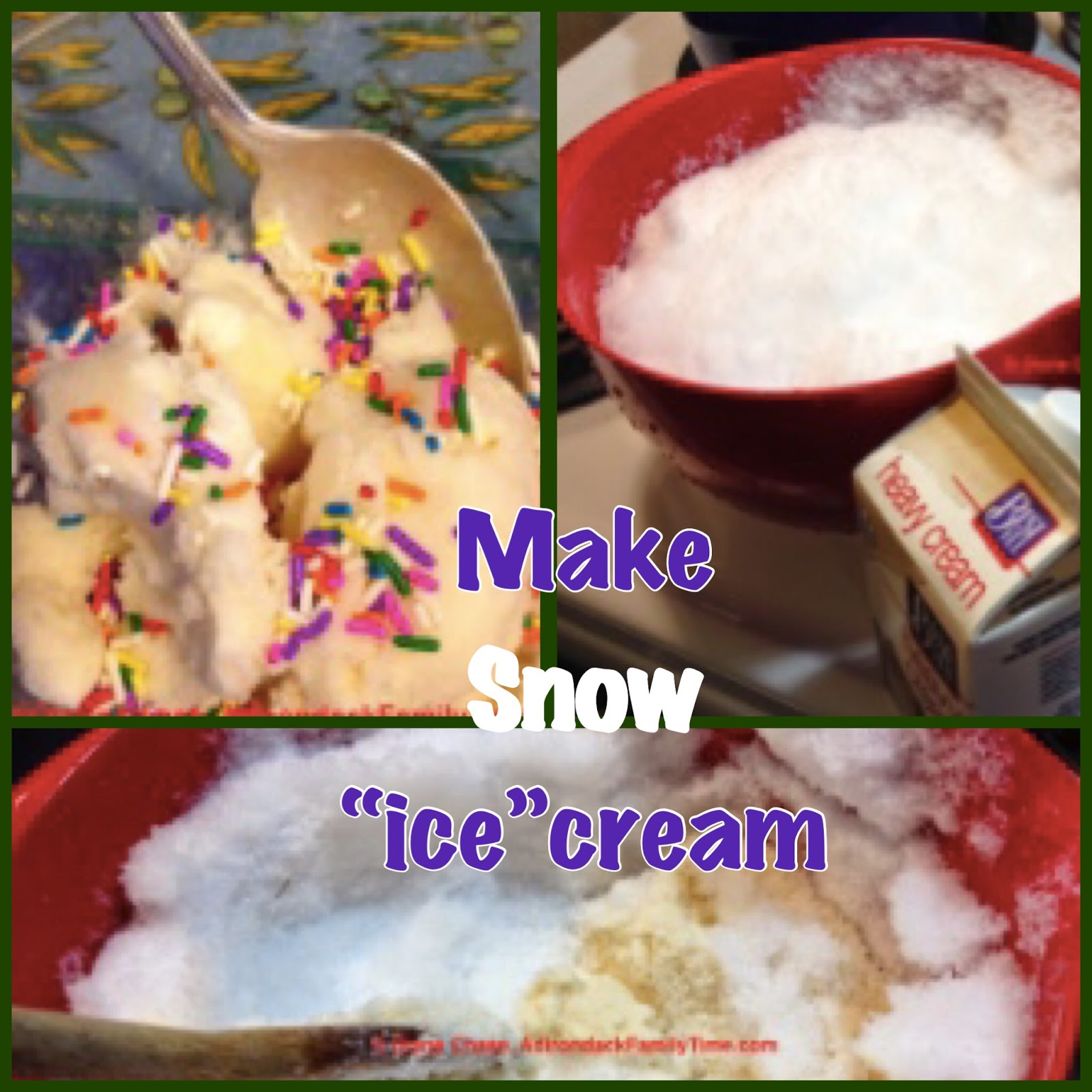 Recipe making snow cream instead of ice cream using fresh clean recipe making snow cream instead of ice cream using fresh clean snow to make ice cream ccuart Gallery