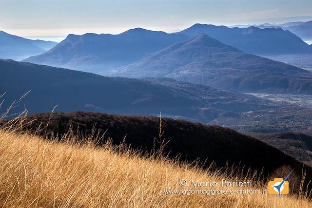 Panorama salendo al monte Lema