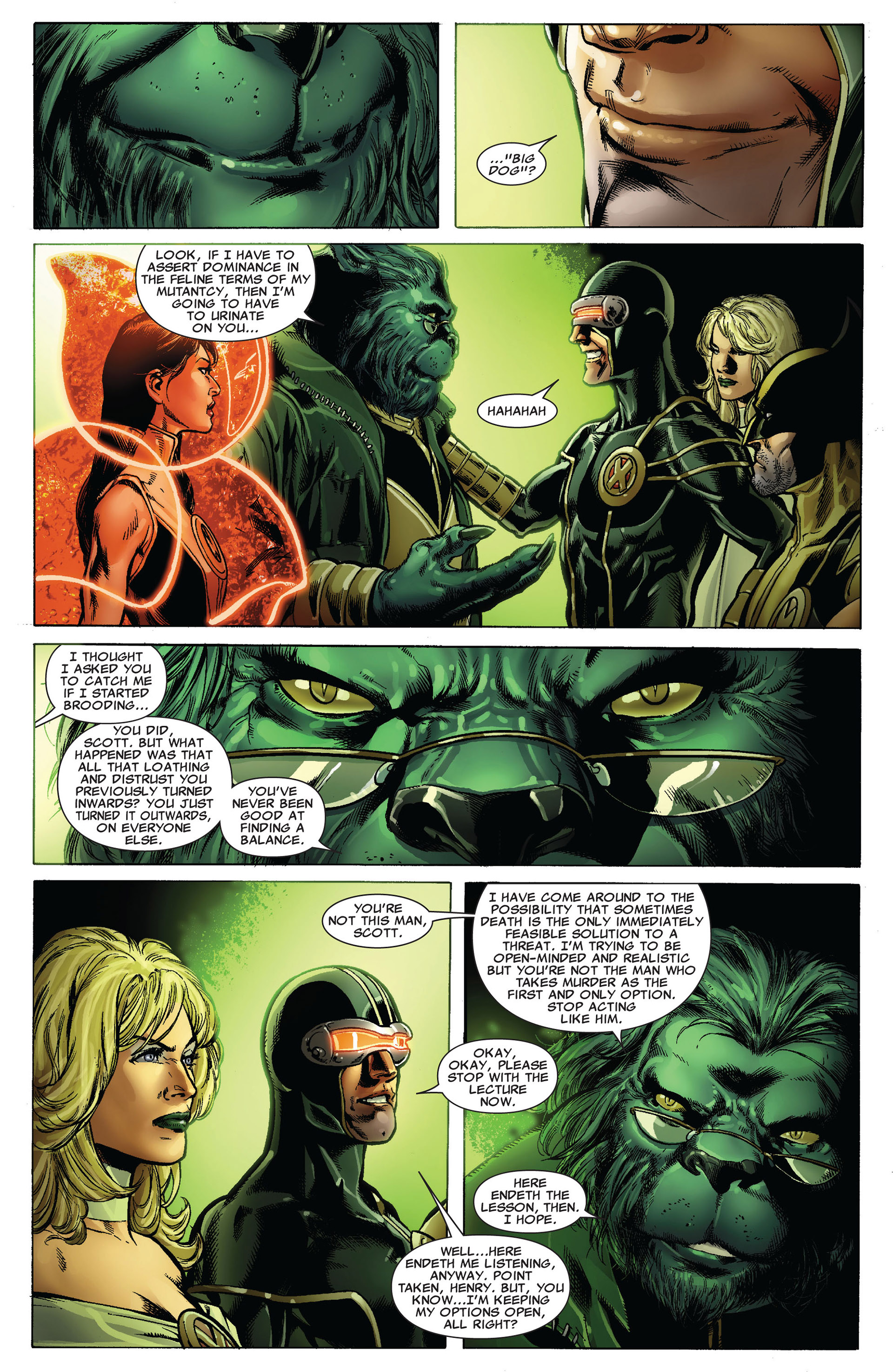 Read online Astonishing X-Men (2004) comic -  Issue #34 - 6