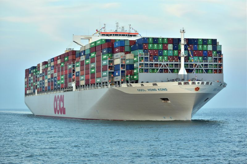 Largest Container Ship In The World Today