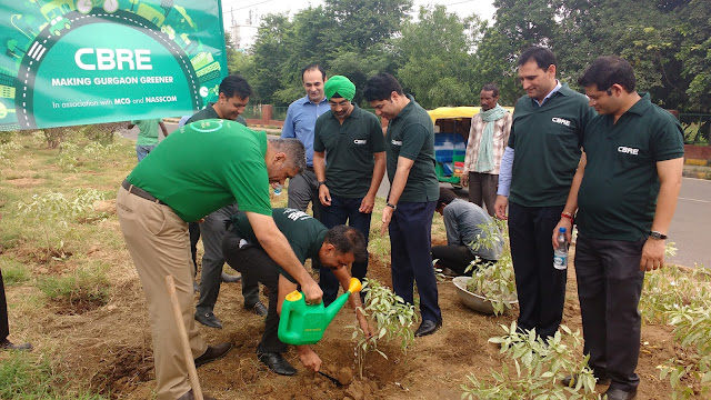CBRE - Green Initiative - In Association with NASSCOM & MCG