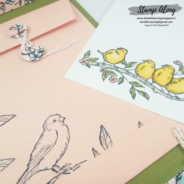 Stampin' Up! Bird Ballad Suite