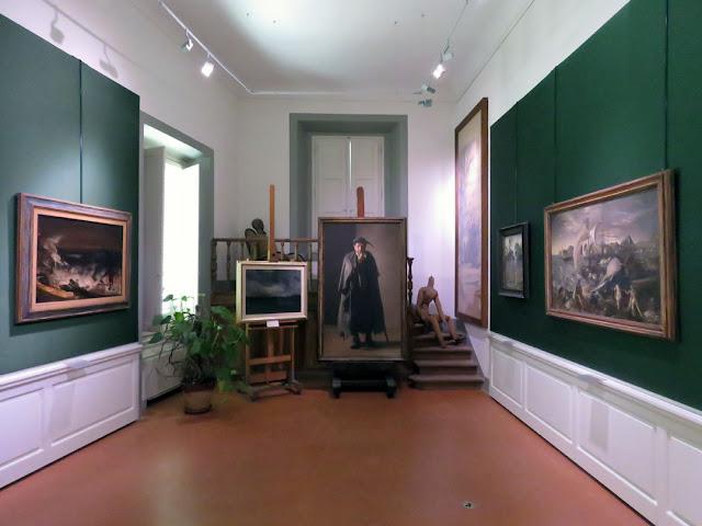 Museo Annigoni, Annigoni Museum, Villa Bardini, Costa San Giorgio, Florence