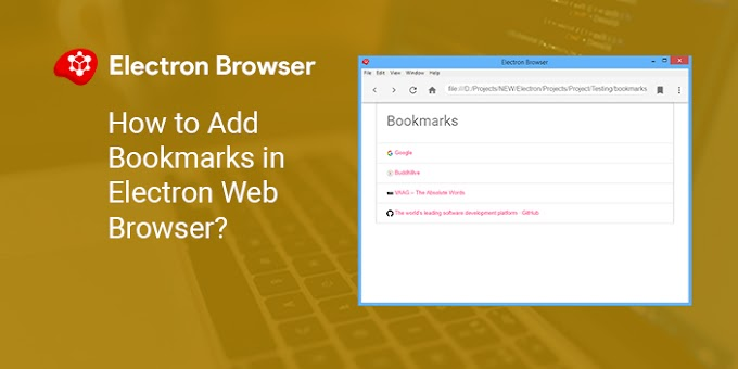 How to Add Bookmarks in Electron Web Browser?