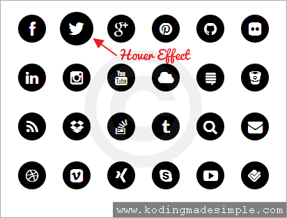 black-and-white-pure-css-social-media-icons