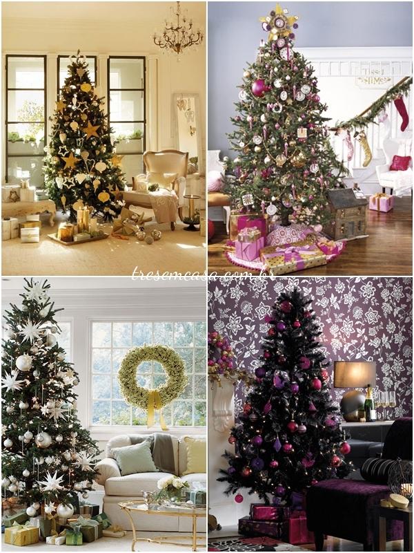 como decorar árvore natal