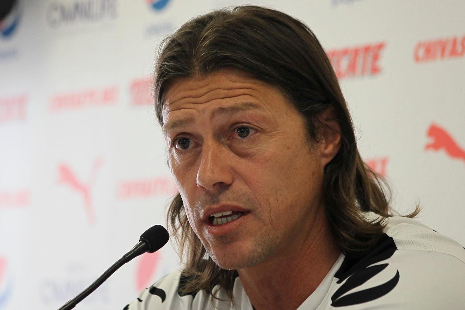 El técnico Matías Almeyda.