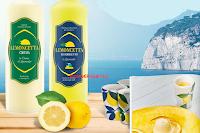 Logo Con Limoncetta vinci 1.000 set di bicchieri da Limoncello e soggiorno a Sorrento