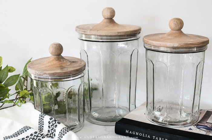 Modern Farmhouse Kitchen Canisters