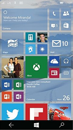 Windows10 Mobile