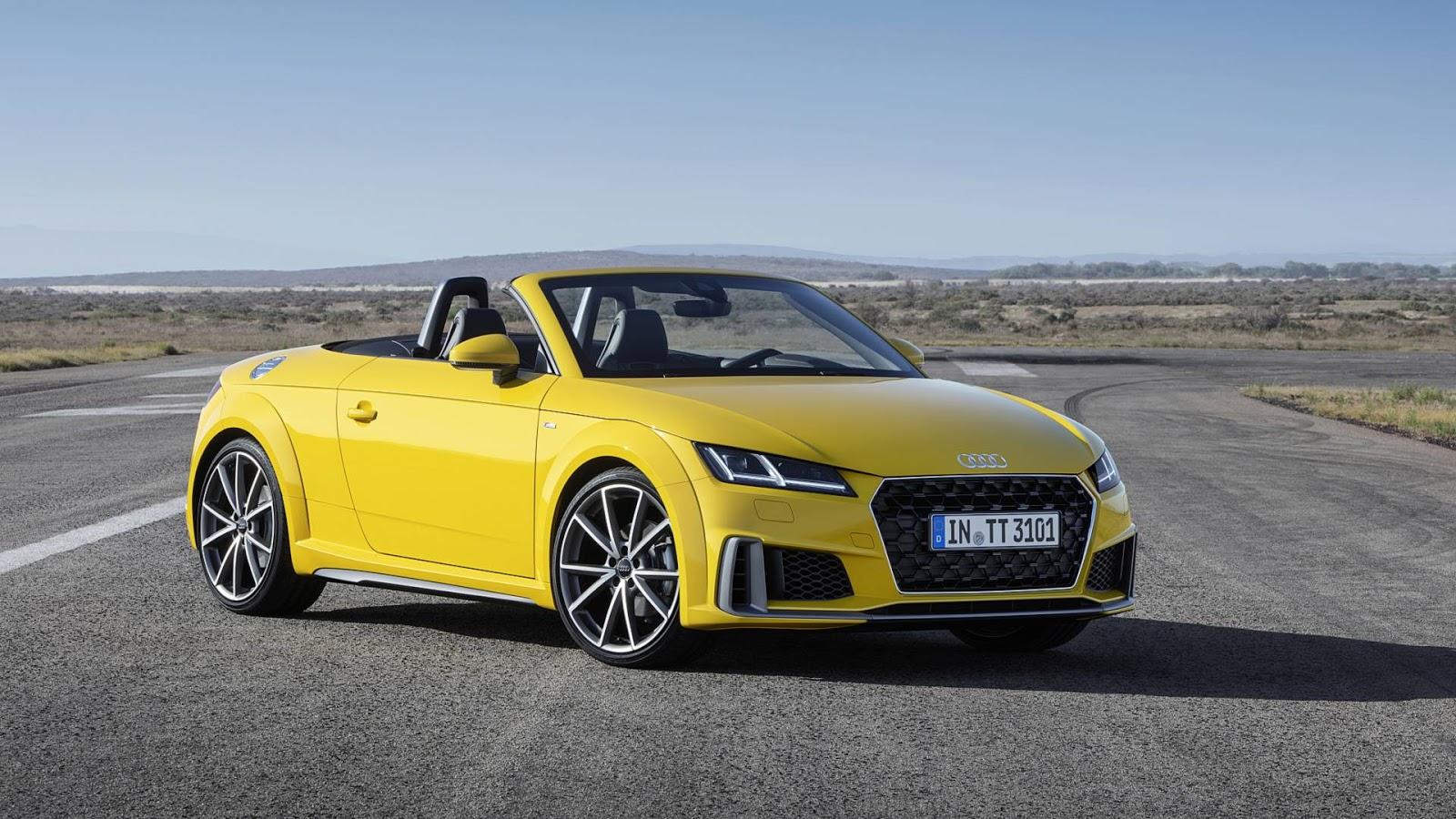 2019年式的Audi TT獲得更豐富的標準配備與細微的外觀升級! | SanjiNoir 黑侍樂讀|