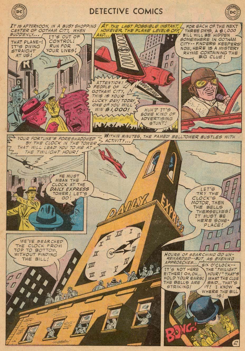 Read online Detective Comics (1937) comic -  Issue #242 - 4