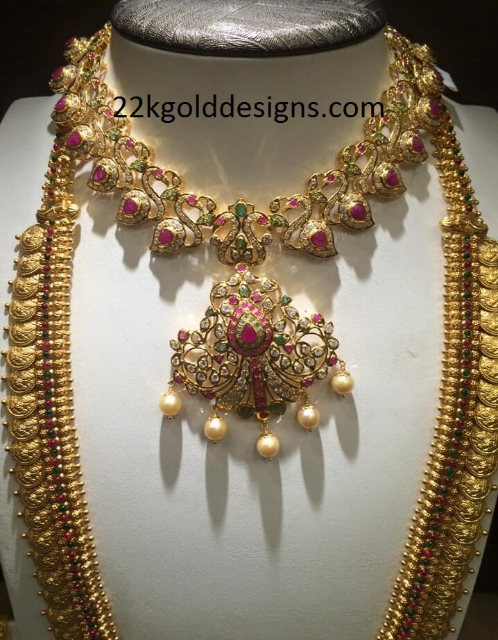 Pachi Necklace Designs Archives - Page 2 of 3 - 22kGoldDesigns