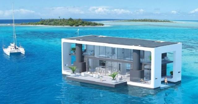 Estas casas flotantes podrán resistir huracanes categoría 4