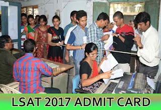 LSAT 2017 Admit Card, LSAT Admit Card 2017, LSAT India