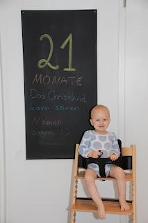 Tafelbild 21 Monate