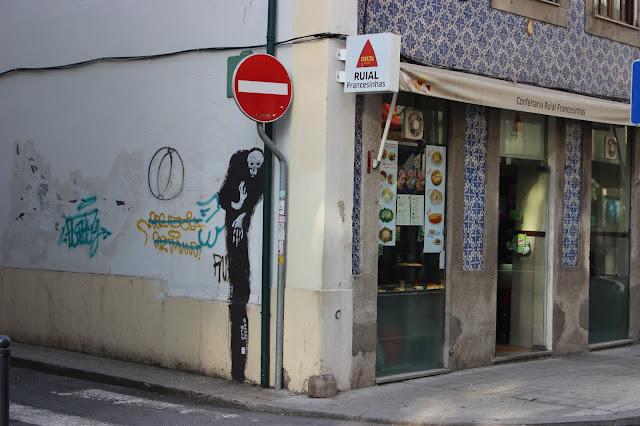 Berriblue Street Art Graffiti Death Grim Reaper Porto Portugal