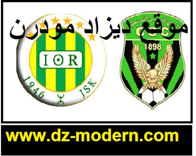 ميعاد توقيت مباراة شباب قسنطينة وشبيبة القبائل اليوم match csc vs jsk