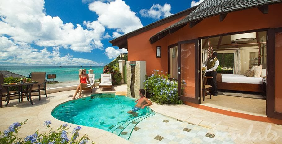 9 Overwater Bungalows Open At Sandals Grande St Lucian: Sandals Overwater Bungalow Update (10/9/13)