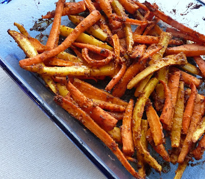 Moroccan Spiced Roasted Carrots
