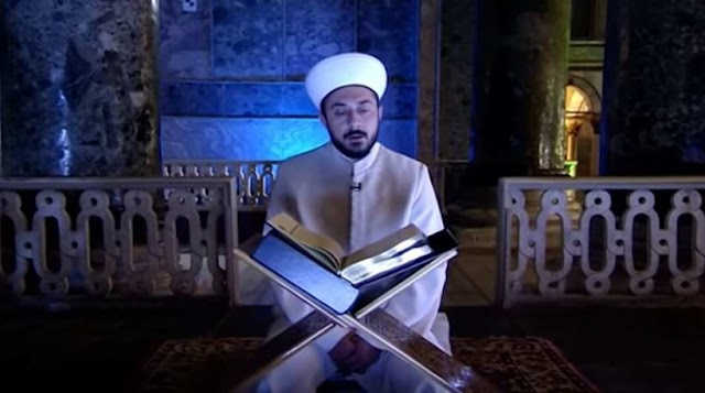 Δεν είναι τίποτα τραγικό να διαβαστεί το κοράνι στην Αγιά Σοφιά είπε ο Νίκος Ξυδάκης...