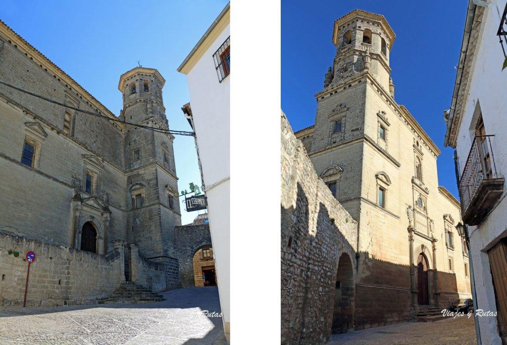 Capilla universitaria de San Juan Evangelista y Arco del Barbudo, Baeza