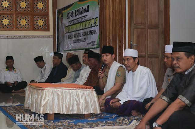 Safari Ramadhan, Gus Ipin Ajak Kembali Masyarakat Untuk Membangun Bangsa