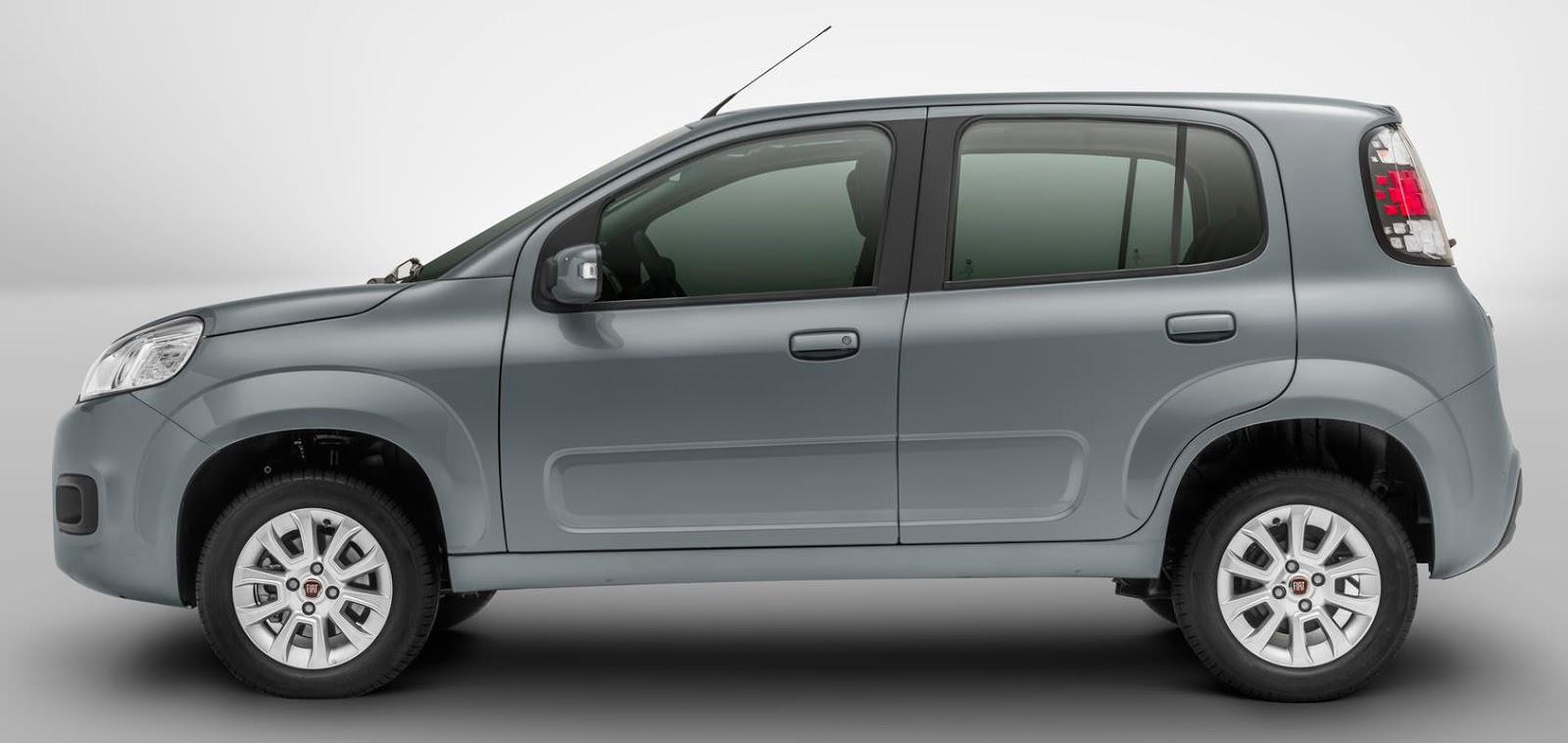 Novo Fiat Uno 2016 Pre U00e7o E Ficha T U00e9cnica