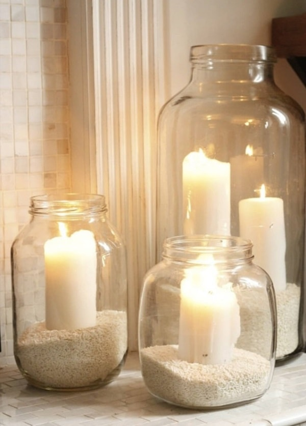 DIY Decor Easy Candle Decorating Ideas - Home Decorating Tips 3