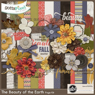 The Beauty of the Earth Page Kit Image