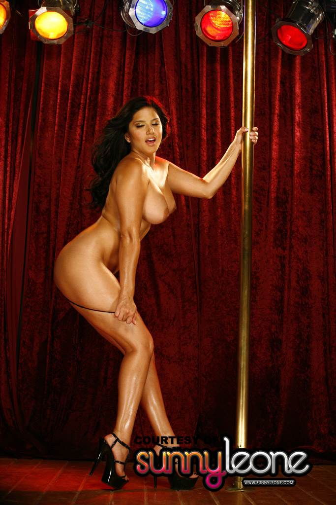Are not sunny leone pole dance