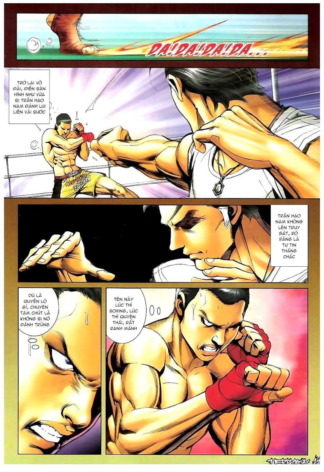 Người Trong Giang Hồ - Chapter 1387: Hạo Nam vs Điền Bân - Pic 12