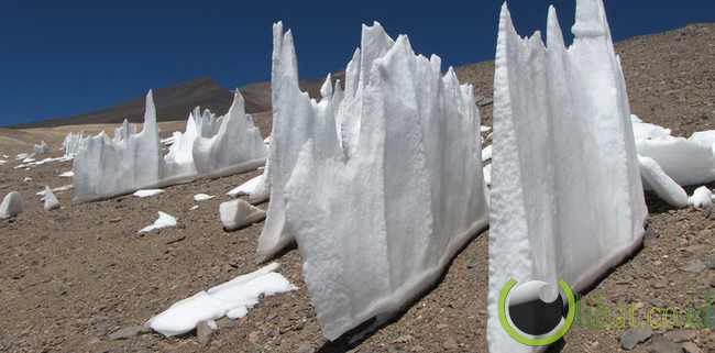 Argentina: Formasi salju setinggi 16 meter